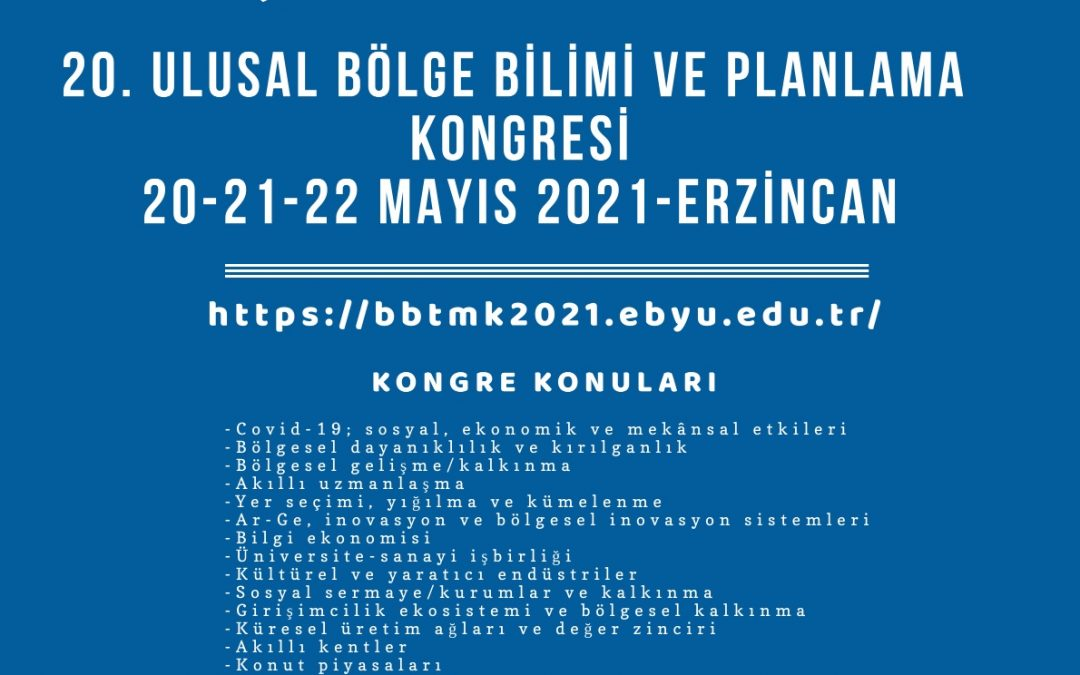 BBTMK Kongresi Üniversitemizde Düzenlenecek